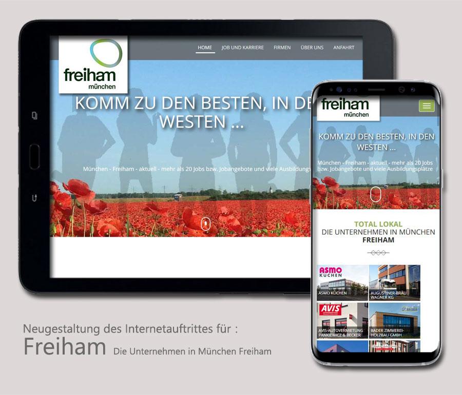 Asmo Freiham webdesign 3d visualisierungen und cad stefanie lenz